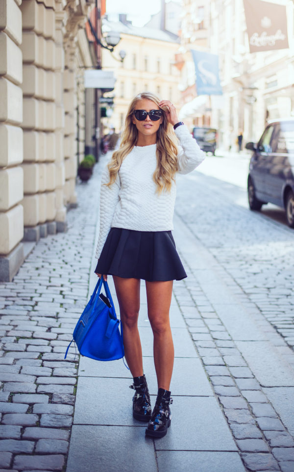 Cute Sweater And Skirt Combinations For Autumn