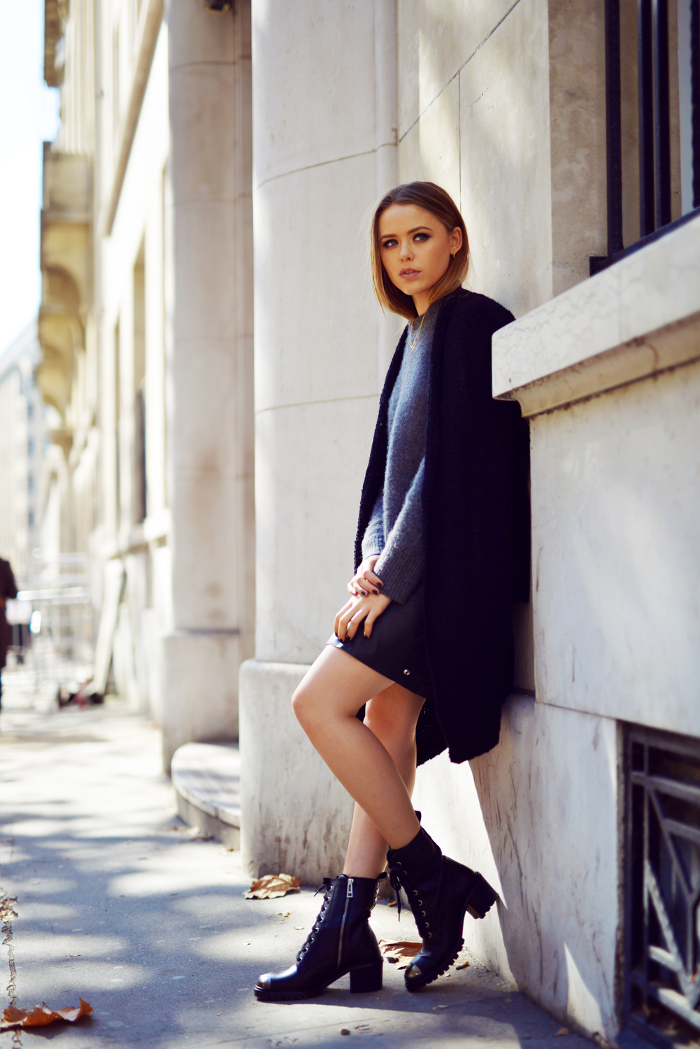 Kristina Bazan Awesome Autumn Outfit All from Zadig & Voltaire