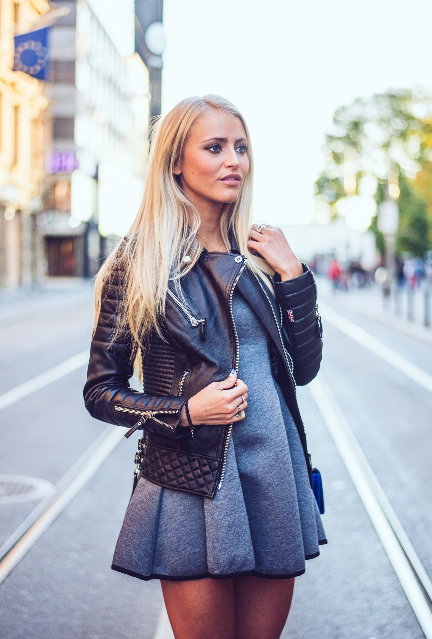 The Best Of The Best Leather Jackets Spotted In Autumn