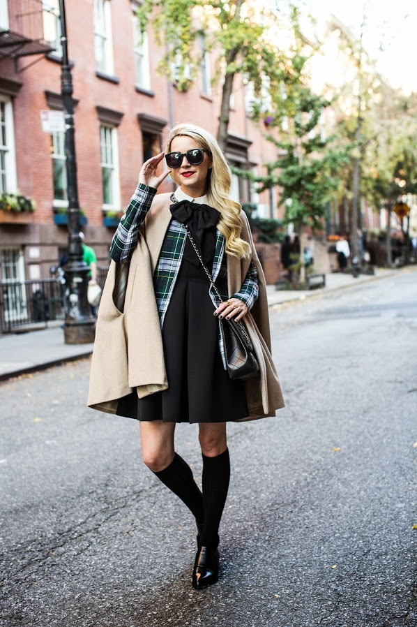 Preppy Outfits For Fall: Blair Eadie shows how to take preppy to another level