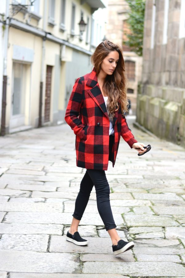 Everyone Is Wearing… Buffalo Plaid. Yeah, It Is A Trend