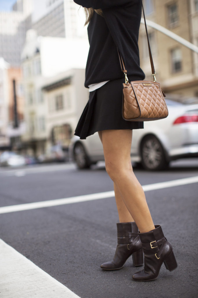 Love the boots from Michael Kors Via Aimee Song