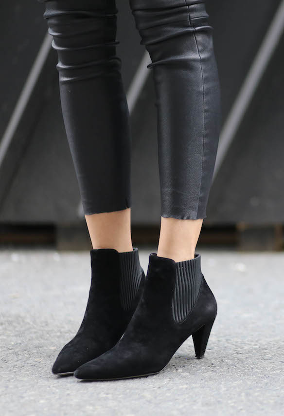 This season is all about the ankle boots. These beauties are from Alexander Wang Via Fashion Junkie