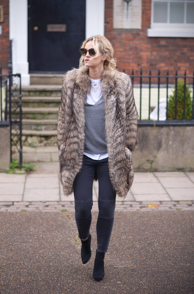 Street Style November 2014: In the photo Anouk Yve