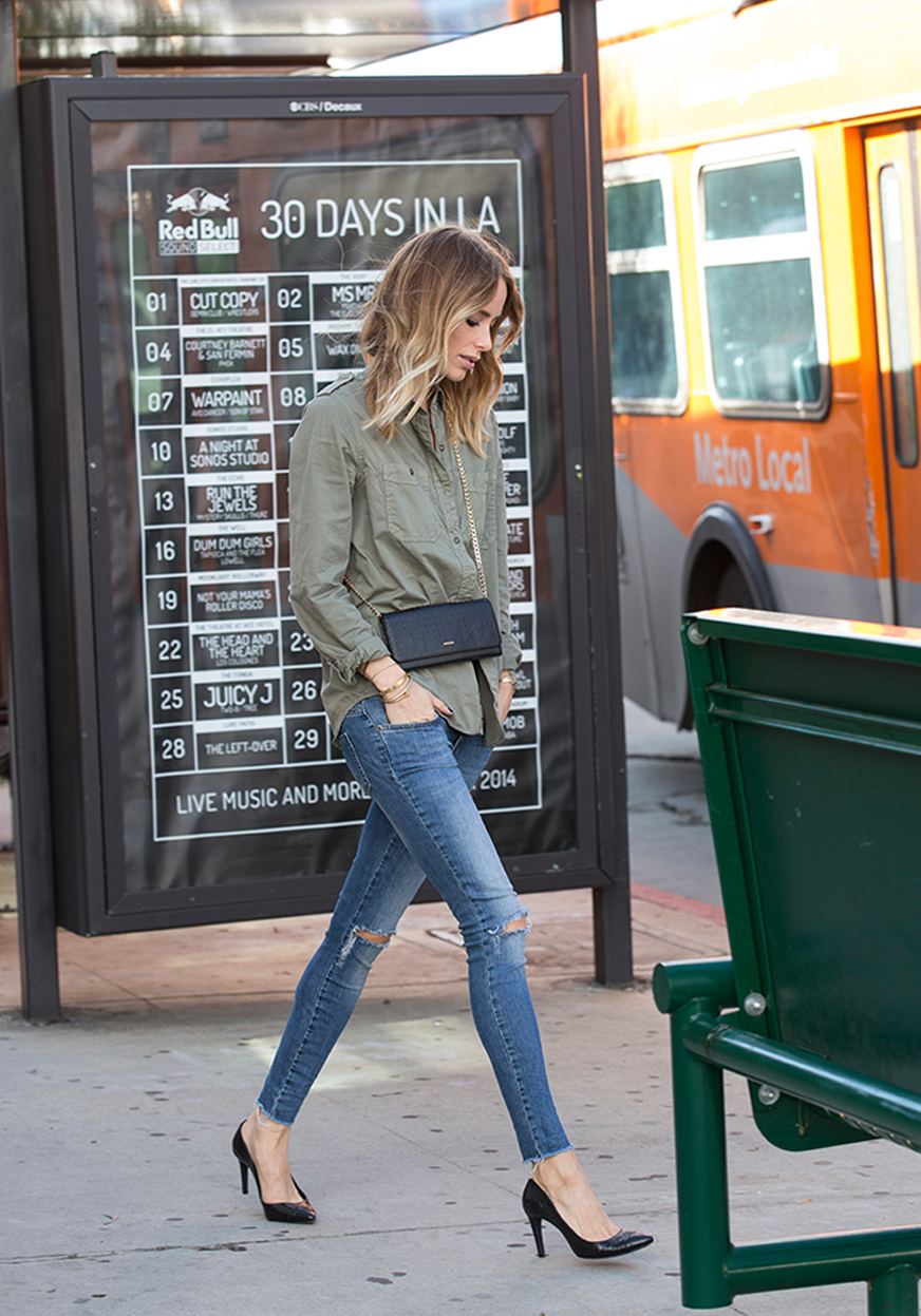 Street Style November 2014: Anine Bing is wearing clothes from her own range
