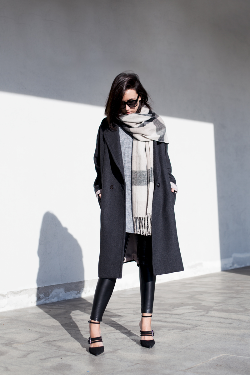 How To Wear The Oversized Scarf Trend