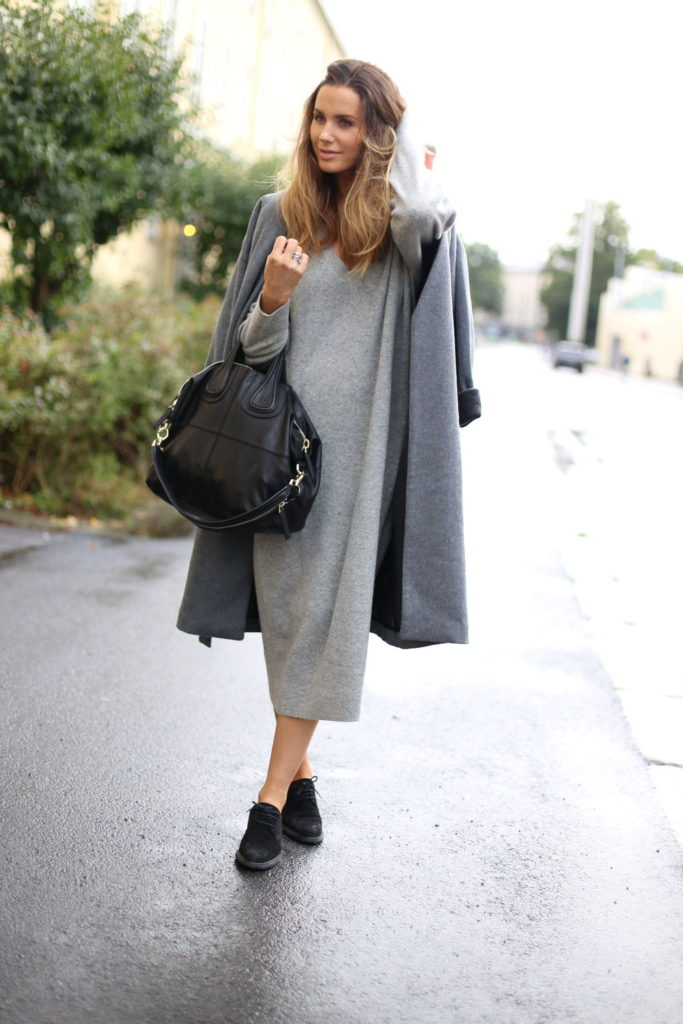Grey On Grey Outfits