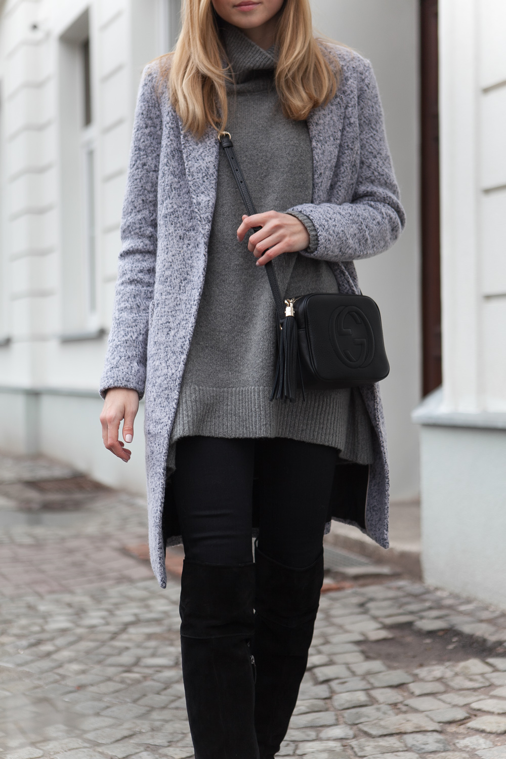 Neutral Street Style Via Jess A.