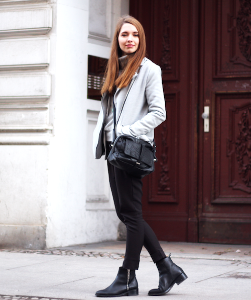 Simple Outfit Street Style Via Diana DeMarino