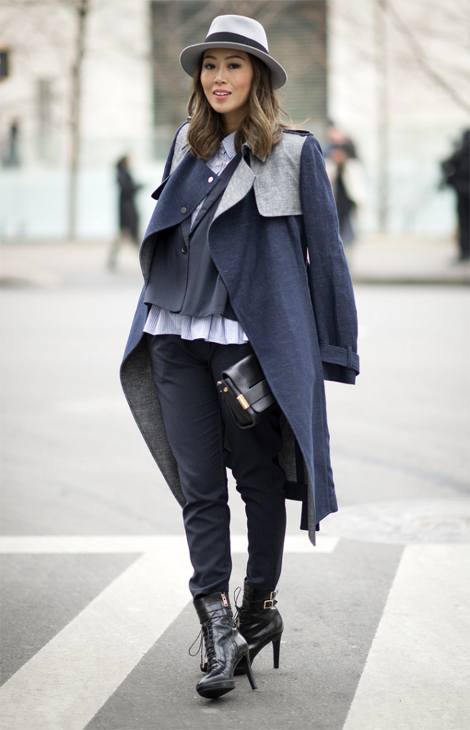 The menswear inspired fashion trend Via Aimee Song