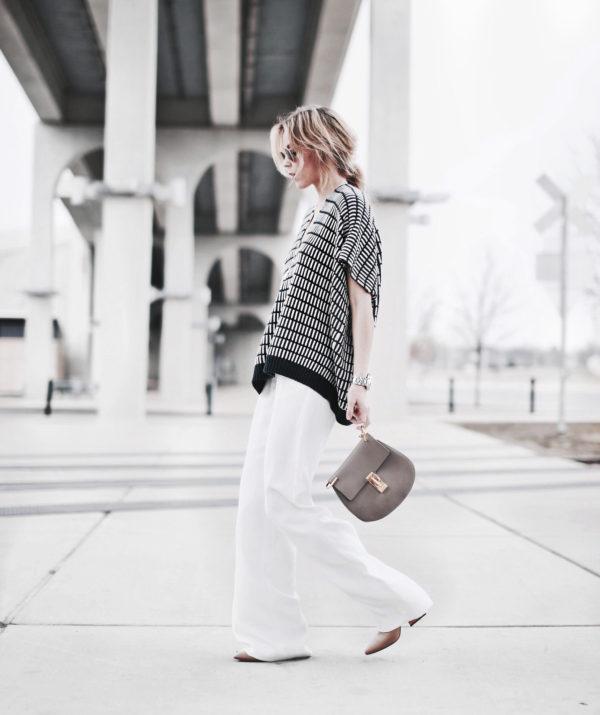 There Is No Easy Way To Say It: The Wide Leg Trousers Is A Trend – Outfits & Ideas.