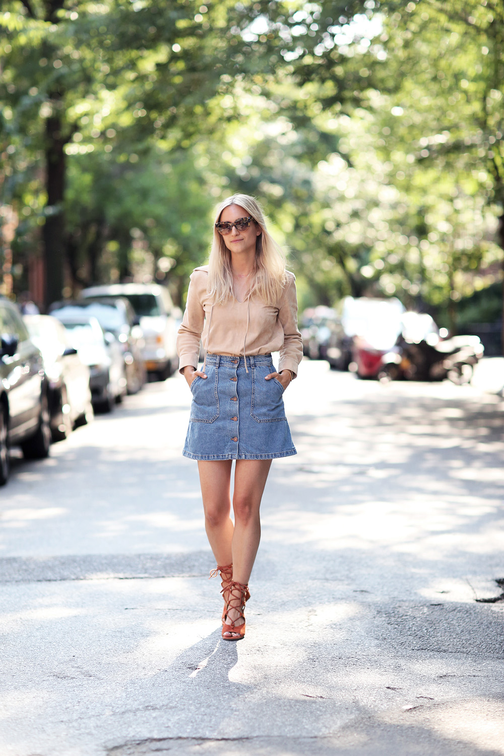 Black skirt outfits ideas
