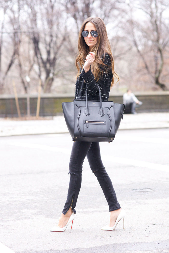 Arielle Nachami goes street style in April of 2015