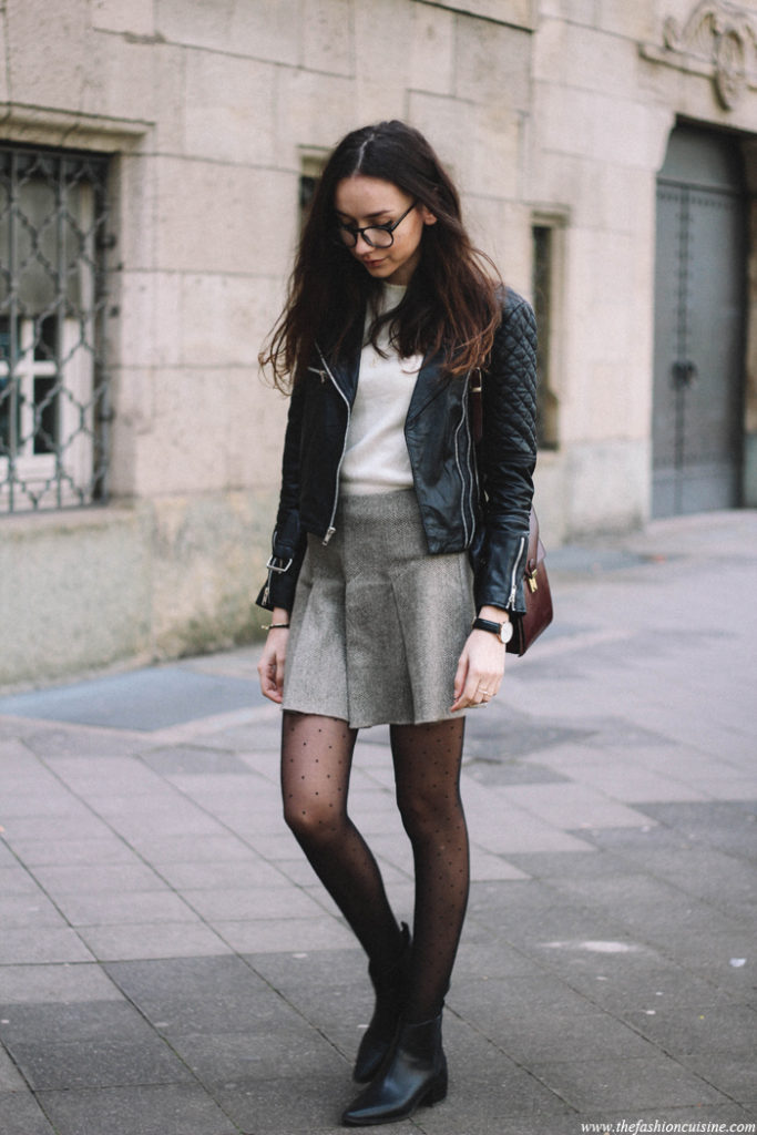 94908ac303 Street Style Fashion, May 2015: Beatrice Gutu is wearing a black Viparo black  leather
