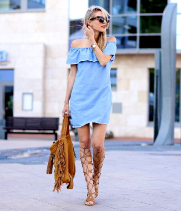 9f33fc440c3 25 Outfits That Will Show You How To Wear And Style The Gladiator Sandals