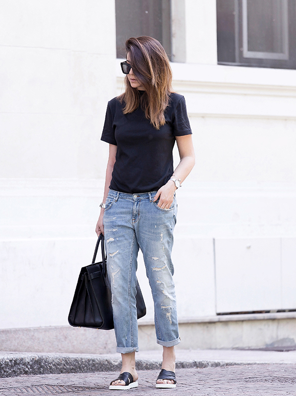 Boyfriend Jeans Outfits And Tips On How To Wear Them - Just The Design