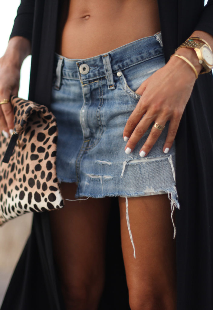 64. denim skirt