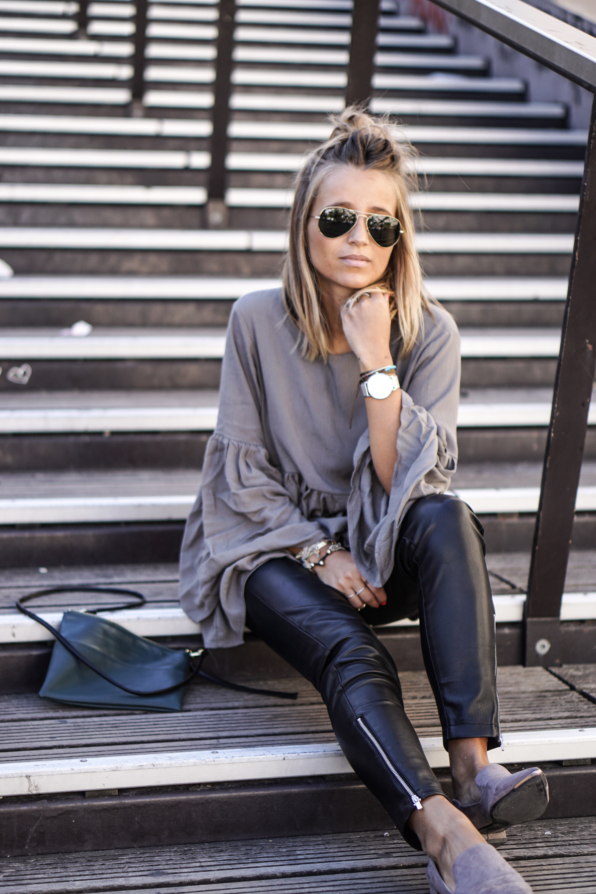 How To Style The Bell Sleeve Trend