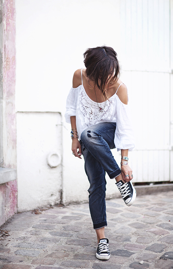 3930db9586d 50+ Fashion Hacks That Will Show You How To Wear Converse - Outfits With  Converse - Just The Design