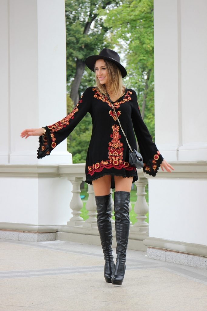 Over The Knee Boots Outfit 9