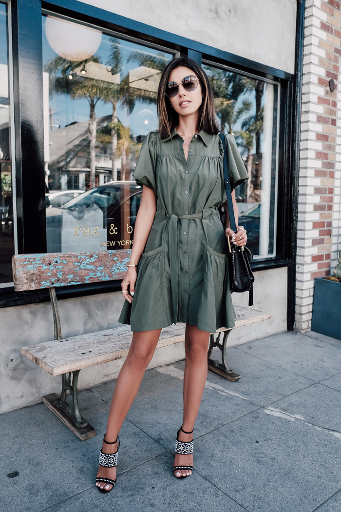 2623974584c9 A shirt dress is the perfect way to achieve a smart yet summery style.  Annabelle