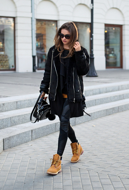 d1ff9d606aa6 How To Wear Timberland Boots If You Are A Girl – Outfits With Timberlands