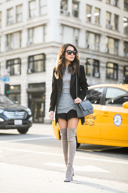 The Thigh High Boots Outfit 35 Ways To Wear Thigh High