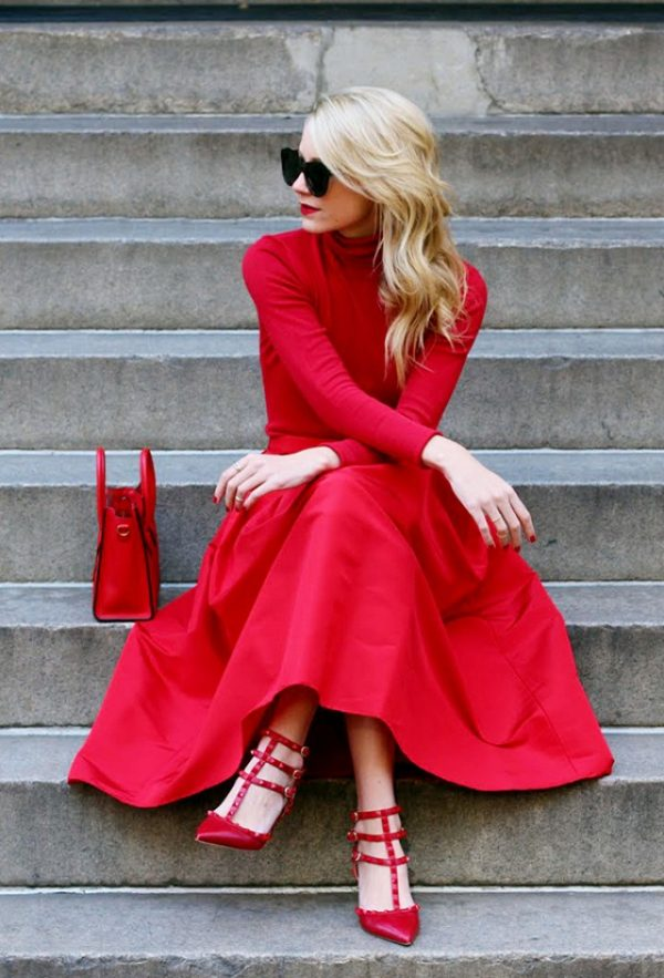 22 Red Dress Outfits That Will Make You Want To Buy One
