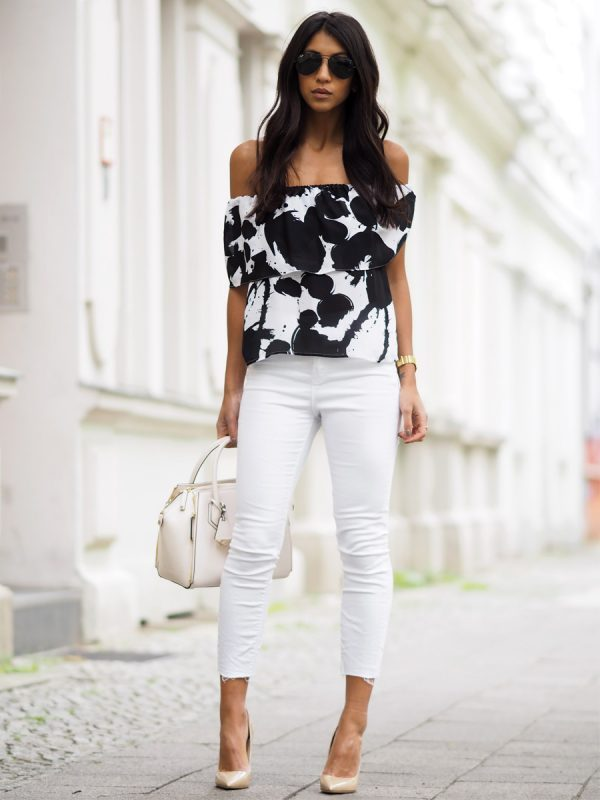 Style Tips On What To Wear With White Jeans - The White Jeans