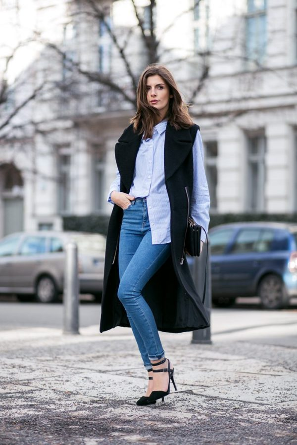 The Dos And Don'ts Of The High-Waisted Jeans Outfit - Just The Design