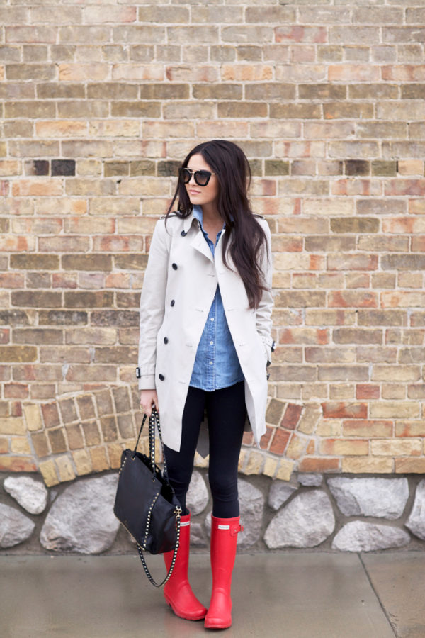 ea88cc8af35 How To Style And Wear Hunter Boots - Just The Design