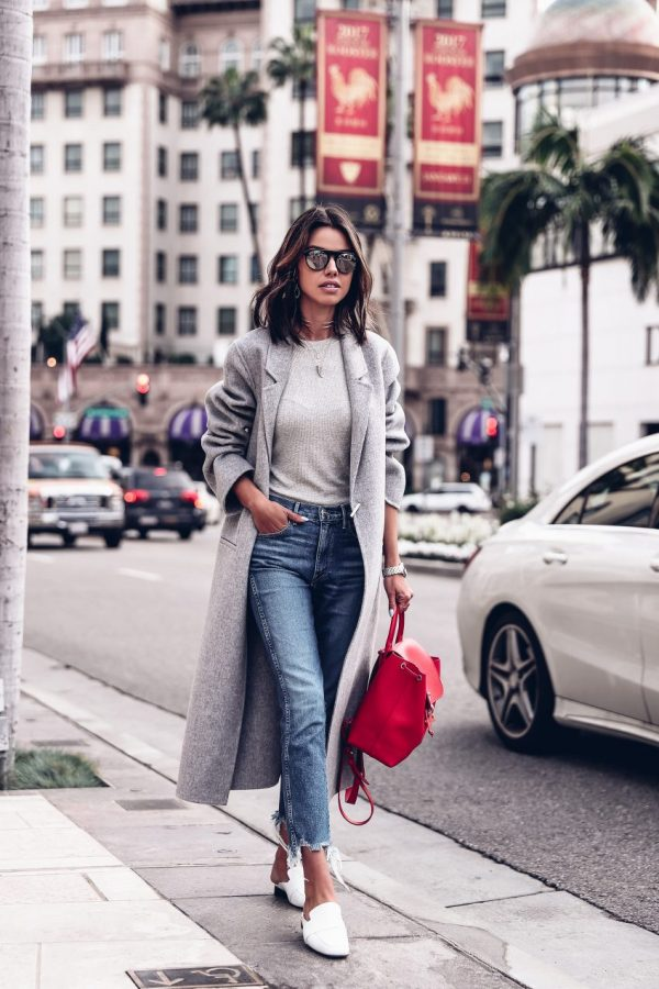 Style Tips On What To Wear With Your Grey Coat – Grey Coat Outfits
