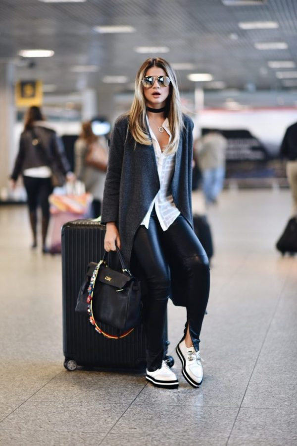 Style Tips on How to Wear Leggings - Outfits - Just The Design 6f0c2d548