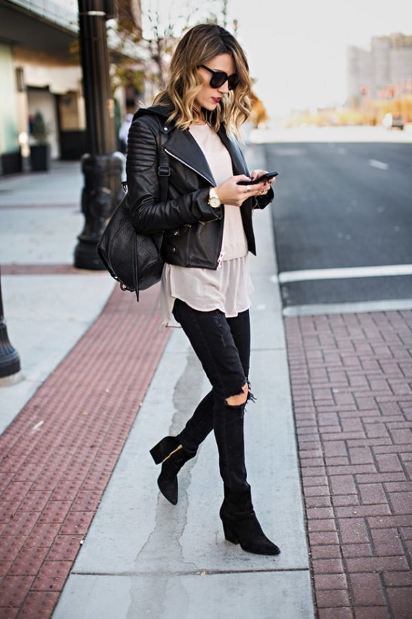 50 Incredible Outfits With Black Jeans For The Fashion-Minded ...