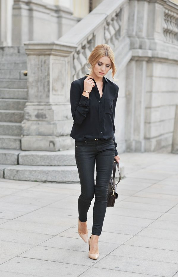 50 Incredible Outfits With Black Jeans For The Fashion ...